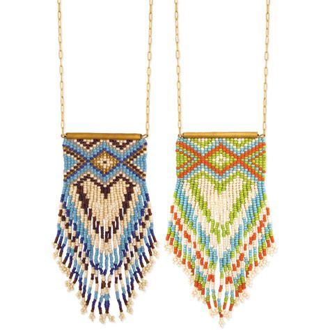 peyote beading wholesale peyote stitch fringe necklace zad fashion