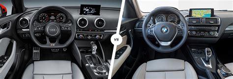 Audi A3 Baureihen by Audi A3 Vs Bmw 1 Series Hatchback Comparison Carwow