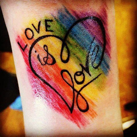 gay pride tattoos best 25 pride tattoos ideas only on lgbt