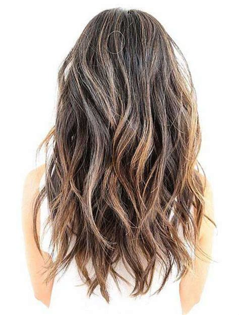 Even Hair Cuts Vs Textured Hair Cuts | 25 best ideas about long wavy haircuts on pinterest mid
