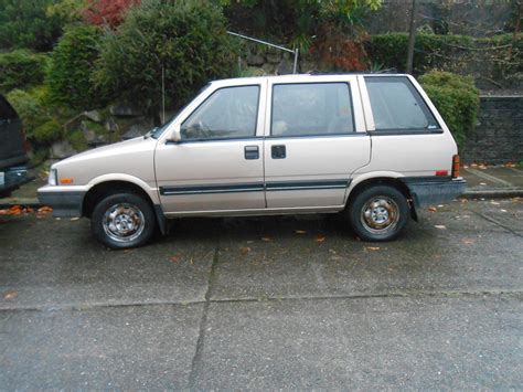 nissan stanza wagon slammed seattle s parked cars 1987 nissan stanza 4wd wagon