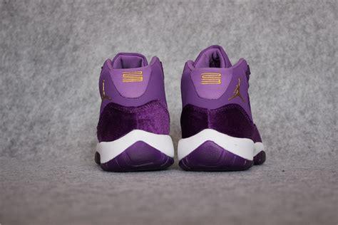 new releases new release air 11 grape velvet purple white gold