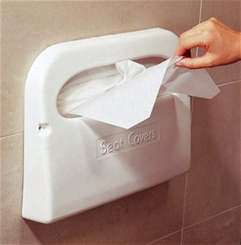 Gallery of paper toilet seat covers effective
