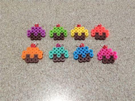 cupcake perler cupcake perler bead sprites
