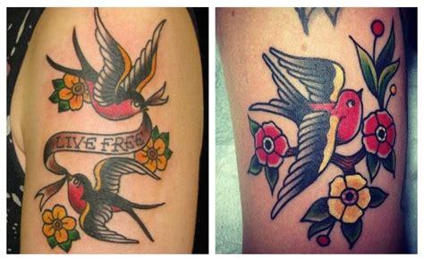 diferencia entre tattoo new school y old school tatuajes de golondrinas 191 cu 225 l es su historia fotos y dise 241 os