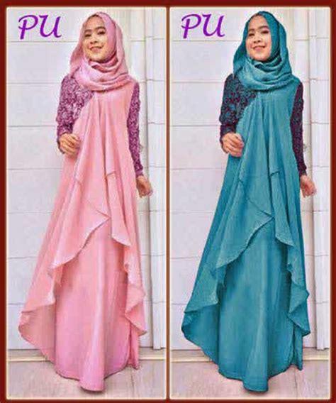 Gamis Pesta Zoya Terbaru 2015 Baju Gamis Terbaru Model Busana Muslim Pesta 2015
