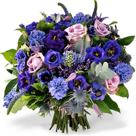 bosje bloemen plaatjes magisch blauw boeket 187 bosbloemenbezorgen nl