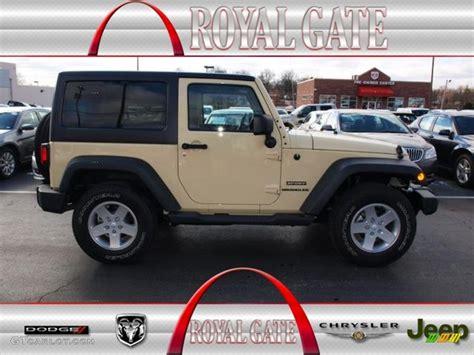 sahara jeep tan 2012 sahara tan jeep wrangler sport s 4x4 78076172