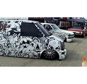 Slammed Van And Dually With JL Audio System  Slamology 2013 YouTube
