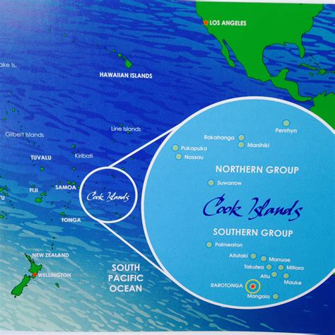 cook islands world map where in the world are the cook islands