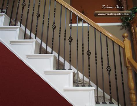 banisters and spindles high quality powder coated iron stair parts ironman1821