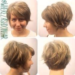 stacked hairstyles for thin hair 50 wavy bob hairstyles short medium and long wavy bobs
