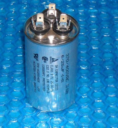 sh capacitor 370 400vac nuintek motor run capacitor 6 25uf 0602202 stk 2858