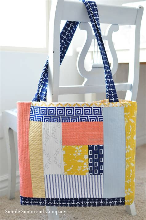 Quilt As You Go Bag by Quilt As You Go Tote Bag Simple Simon And Company