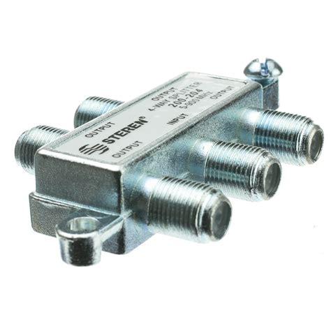coax splitter   mhz uhf vhf fm otabroadcast tv