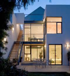 Modern Townhouse Plans Townhouse Addition Contemporary Exterior San