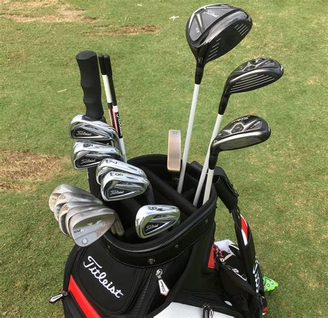 In The Bag what s in the bag with pga tour rookie michael titleist