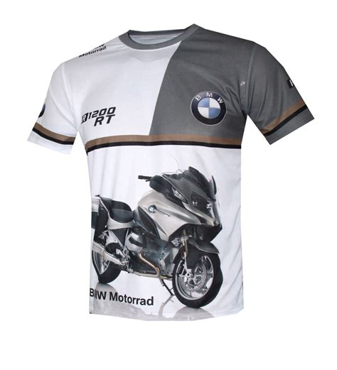 bmw r 1200 rt t shirt with logo and all printed