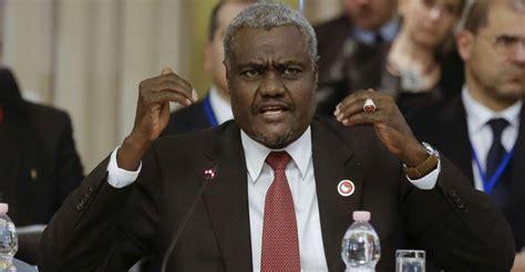 Moussa Faki Agapito Mba Mokuy by Le Tchadien Moussa Faki Mahamat Un Diplomate Chevronn 233 224
