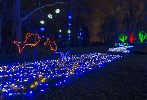 winter walk of lights nova parks