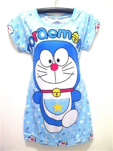 Kaos Raglan Doraemon by Baju Anak Murah Grosir Kaos Doraemon