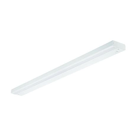 direct wire under cabinet lighting commercial electric 36 in led white direct wire under