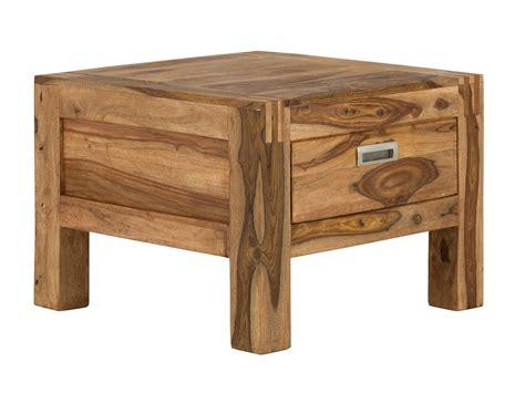 massivholz schublade beistelltisch mit schublade massivholz palisander 60x60