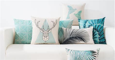 cojines para sala minimalistas geom 233 tricos cojines decorativos modernos para