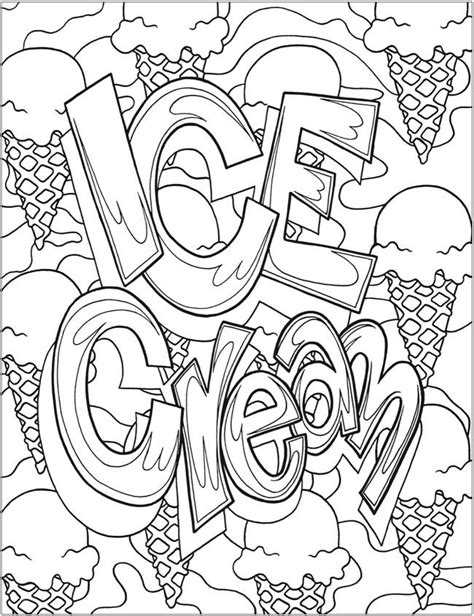 ice cream coloring pages for adults 18 best images about random coloring pages on pinterest