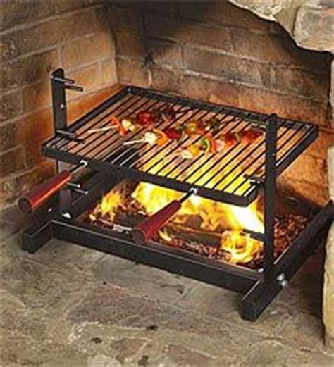 tuscan grill and fireplaces on