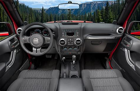 new jeep wrangler interior 2011 jeep wrangler gets new interior autotribute