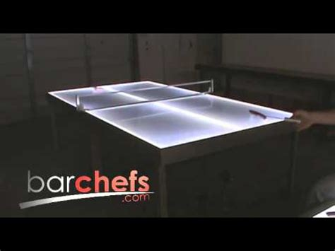 light up ping pong table light up led ping pong tables
