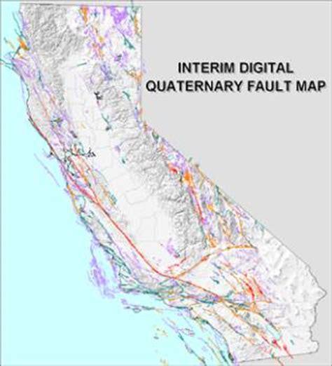 california map fault lines publications california geological survey digital