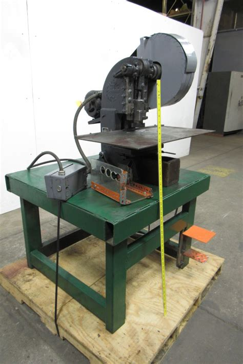 bench punch press alva allen bt 5 obi 5 ton bench mount punch press 1 1 4