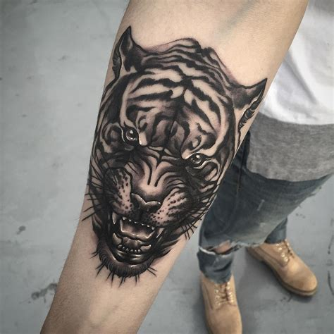 tiger face tattoo animals tattoo pinterest tiger