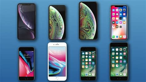 comparing the iphones iphone xr vs xs xs max x 8 8 plus 7 and 7 plus