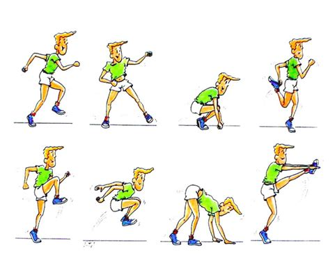 ejercicios de educacion fisica newhairstylesformen2014 com ejercicios din 193 micos educaci 211 n f 205 sica actual
