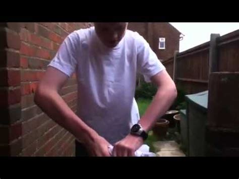 zombie t shirt tutorial how to make a zombie t shirt youtube