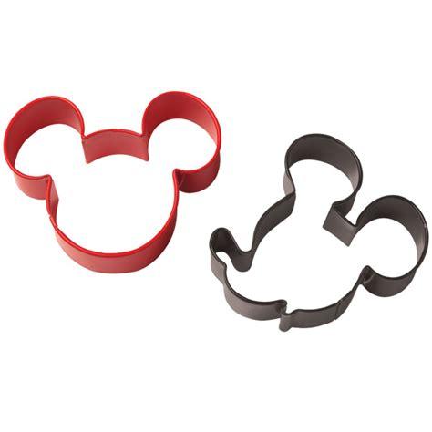 Cookies Cutter Mold Chocolate Fondant Mickey Mouse wilton disney mickey mouse cookie cutter set