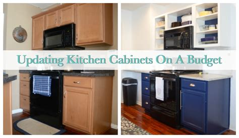 Updating Kitchen Cabinets On A Budget | how to update kitchen cabinets on a budget sweet tea