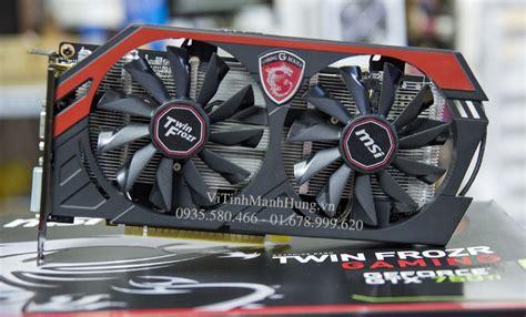 Vga Msi Gtx 750 Ti vga msi gtx 750ti gaming 2g 128bit ddr5 used