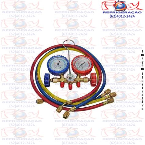 Manifold R22 manifold gas r22 134 404a refrigera 231 227 o fox