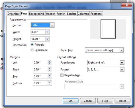 membuat nomor halaman openoffice tutorial dasar dalam menggunakan apache openoffice writter