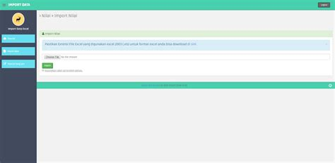 tutorial import data excel ke mysql source code aplikasi cara mengimport data excel ke mysql