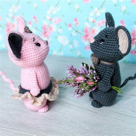 pattern amigurumi crochet mouse couple pattern amigurumi today