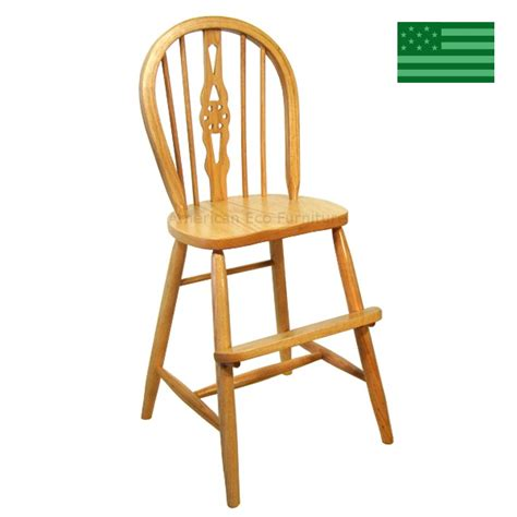 Wooden Youth Chair by Amish Fiddle Back Youth Chair Solid Wood Handcrafted