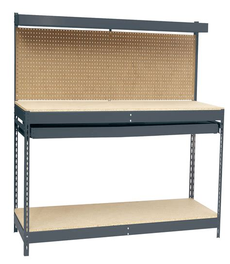 heavy duty workbench with drawers heavy duty workbench with single drawer by edsal in heavy