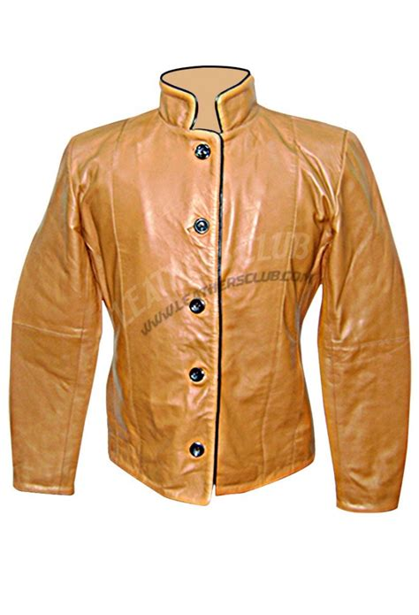 Buttoned Jacket buttoned leather jacket