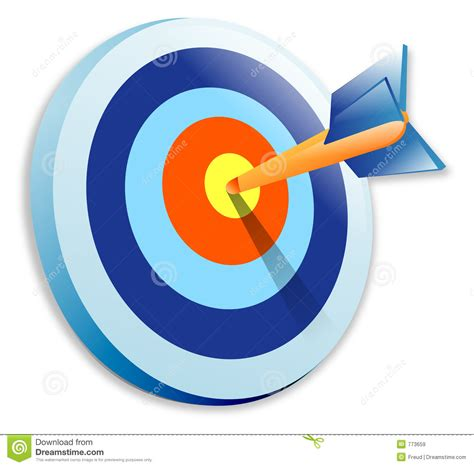 bullseye cartoons illustrations vector stock images  pictures