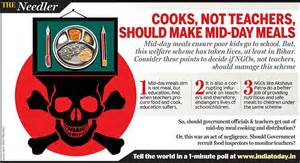 Pdf What Should Make Dinner Everyday by The Needler Cooks Not Teachers Should Make Mid Day